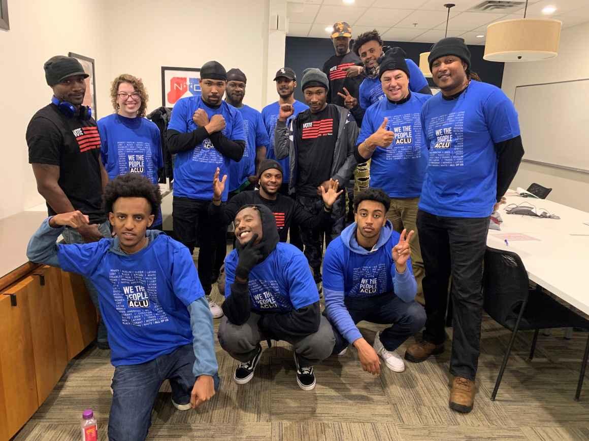 ACLU-MN Smart Justice team