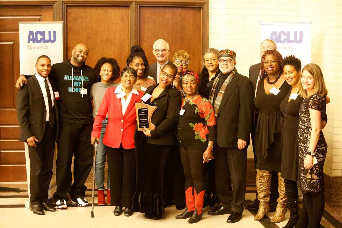 NAACP Minneapolis receives ACLU's Changemaker Award
