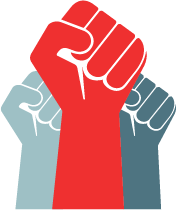 People Power Logo Fists