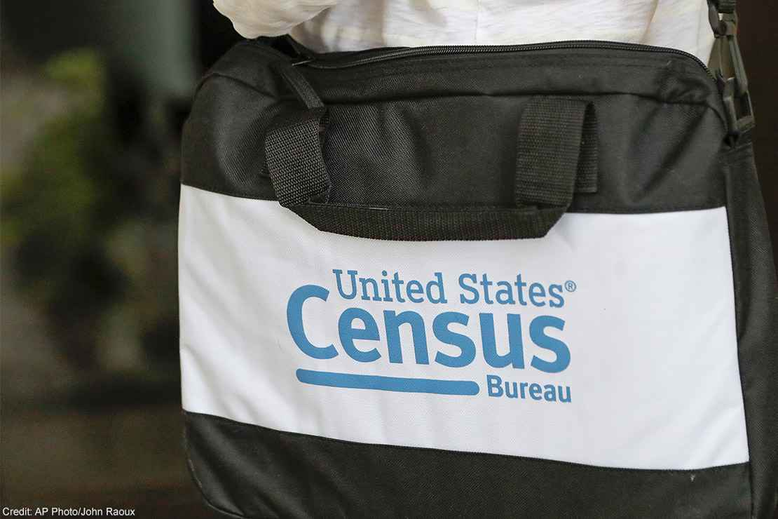 A briefcase of a Census taker.