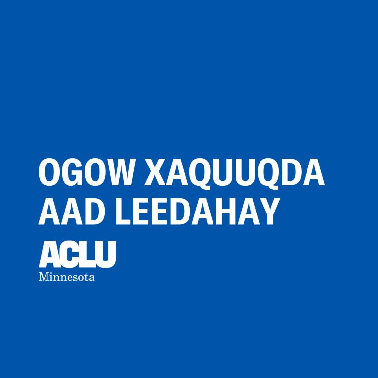 KYR Somali OGOW XAQUUQDA AAD LEEDAHAY