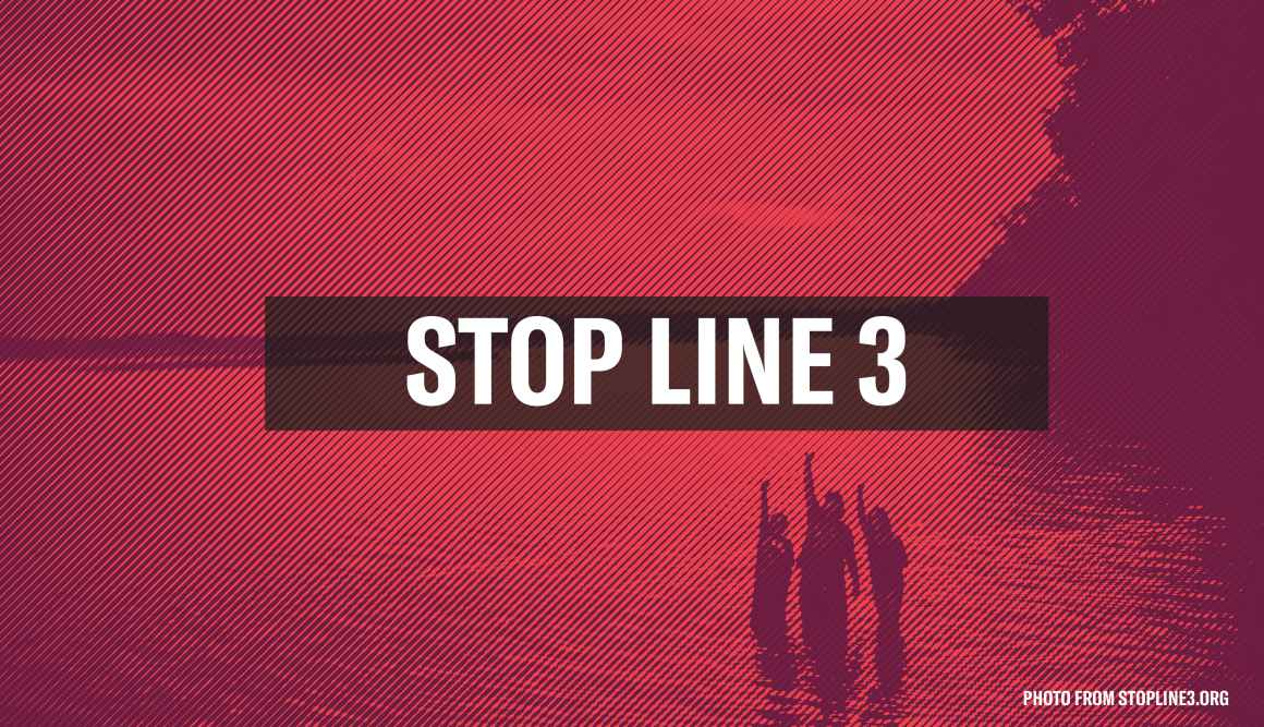 Stop Line 3 Graphic