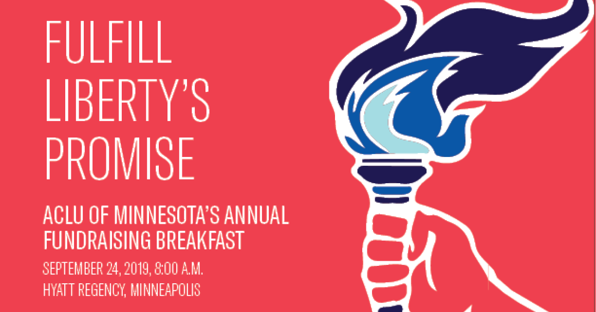 RSVP to fundraiser breakfast for ACLU-MN
