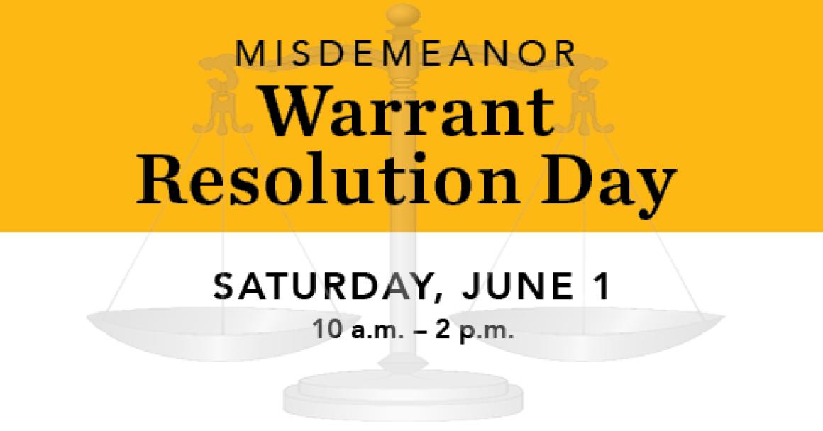 Warrant resolution day